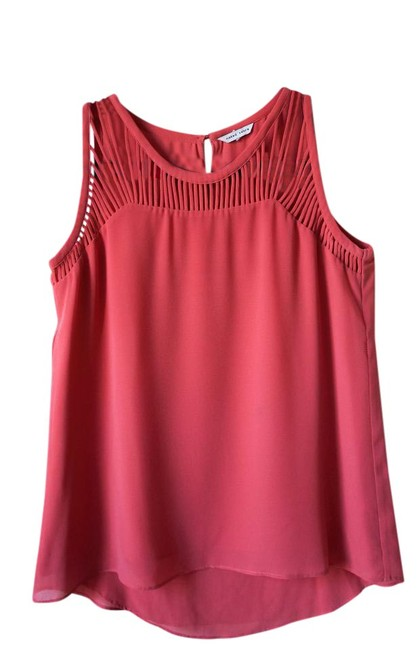 Preload https://item5.tradesy.com/images/naked-zebra-melon-basic-with-details-around-the-neck-tank-topcami-size-4-s-21546559-0-1.jpg?width=400&height=650