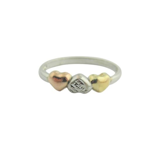 Preload https://img-static.tradesy.com/item/21546605/antique-heart-ring-sterling-silver-and-10k-yellow-gold-earrings-0-1-540-540.jpg