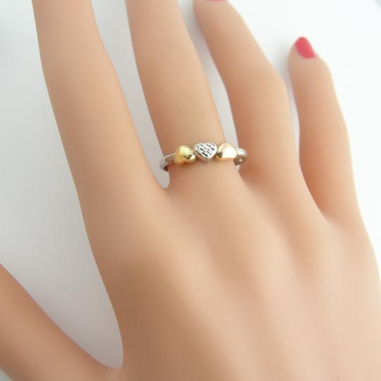 Other Antique Heart Ring- Sterling Silver And 10k Yellow Gold