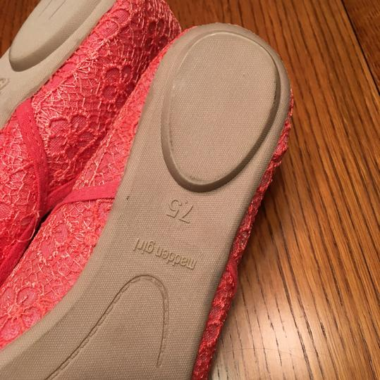 Madden Girl Pink/Coral Flats