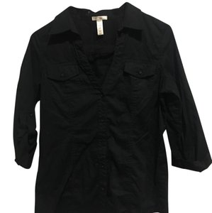 Ambiance Apparel Top Black
