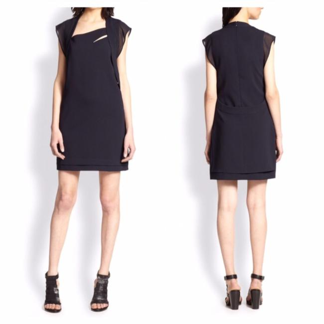 Preload https://item2.tradesy.com/images/the-kooples-navy-asymmetrical-crepe-short-night-out-dress-size-8-m-21546681-0-0.jpg?width=400&height=650
