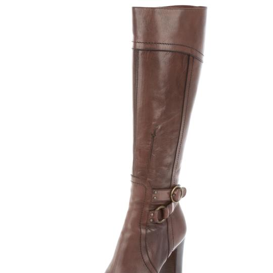 Brown leather Costume National boots size 7.5 Brown Boots