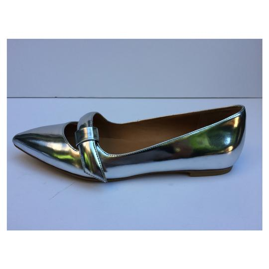 Marc by Marc Jacobs Silver Flats