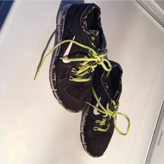 Nike black neon green yellow Athletic