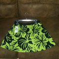 Michael Kors Green and Black Palm Print Set Short Casual Dress Size 8 (M) Michael Kors Green and Black Palm Print Set Short Casual Dress Size 8 (M) Image 3
