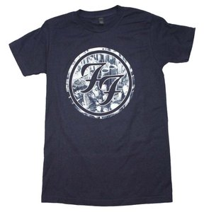 Foo Fighters Band Hippie Boho The Treasured Hippie T Shirt Navy Blue