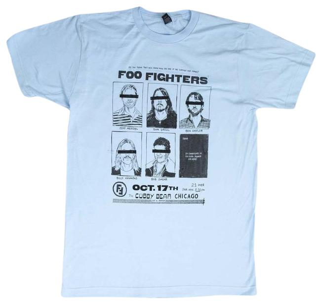Foo Fighters Band Hippie Boho The Treasured Hippie T Shirt Light Blue