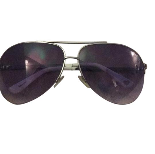 Preload https://item5.tradesy.com/images/juicy-couture-silver-white-and-purpleish-tuxedos-6lb-sunglasses-21547059-0-1.jpg?width=440&height=440