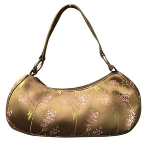 Yans NY Satin Vintage Shoulder Bag