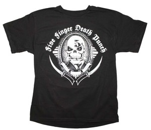 Five Finger Death Punch The Treasured Hippie Music Boho Band Memorabilia T Shirt Black