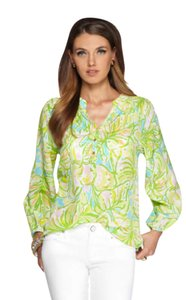Lilly Pulitzer Top elephant ears