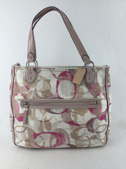 Coach Tote in Multicolored