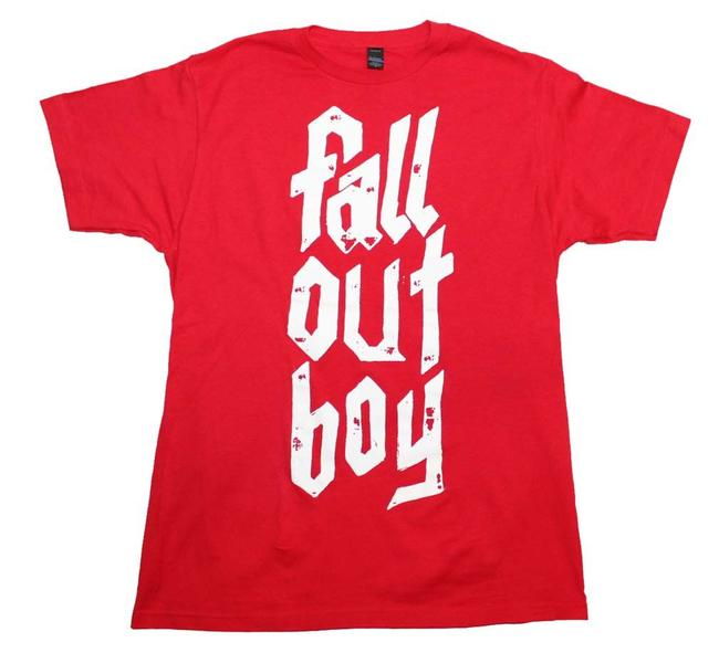 Preload https://item1.tradesy.com/images/red-metal-stack-tee-shirt-size-14-l-21547400-0-0.jpg?width=400&height=650