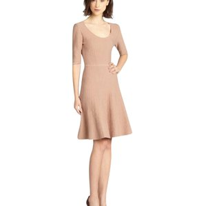 BCBGMAXAZRIA short dress camel on Tradesy