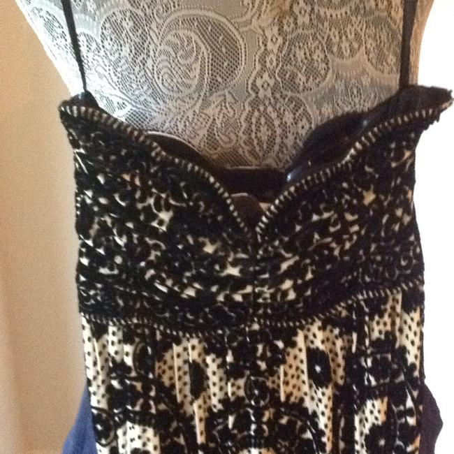 Diane von Furstenberg short dress black and white on Tradesy