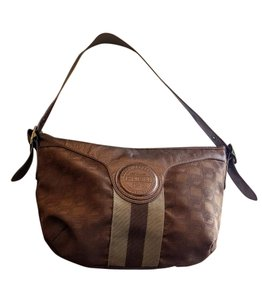 Fubu International Monogram Casual Hobo Bag