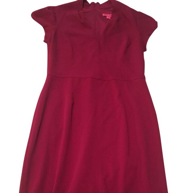 Item - Red Ruby Mid-length Night Out Dress Size 6 (S)