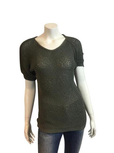 Preload https://item2.tradesy.com/images/max-mara-taupe-weekend-118517-knit-short-sleeve-sweaterpullover-size-12-l-21547566-0-1.jpg?width=400&height=650
