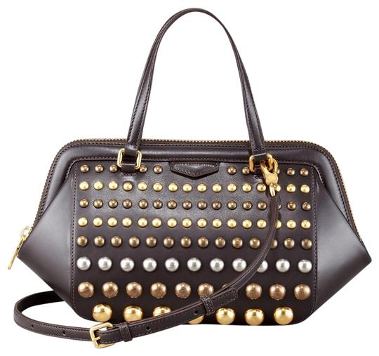 Preload https://img-static.tradesy.com/item/21547671/marc-by-marc-jacobs-thunderdome-studded-brown-leather-satchel-0-1-540-540.jpg