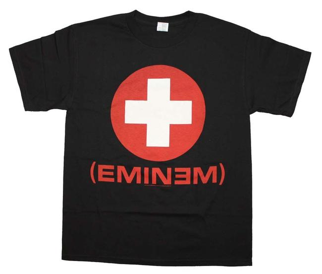 Eminem The Treasured Hippie Music Boho Band Memorabilia T Shirt Black