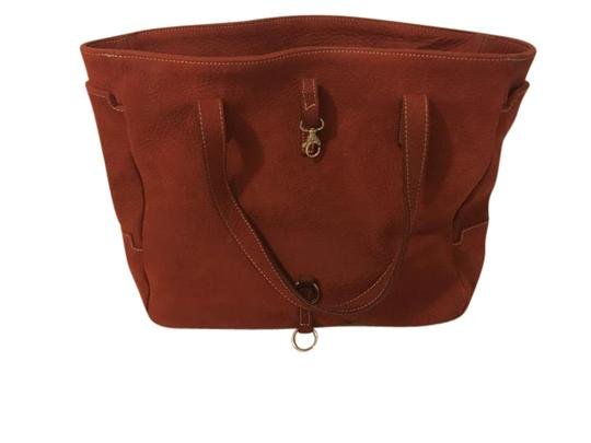 Preload https://item1.tradesy.com/images/buffed-red-leather-satchel-21548345-0-1.jpg?width=440&height=440