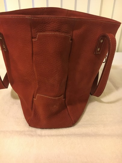 Chiara Guia's Made in Italy Satchel in Buffed Red