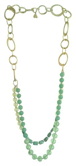 Preload https://item1.tradesy.com/images/banana-republic-jade-gold-and-tiered-necklace-21548365-0-1.jpg?width=440&height=440