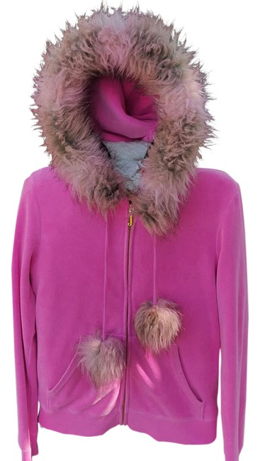 Preload https://img-static.tradesy.com/item/21548457/juicy-couture-bright-pink-cotton-polyester-hooded-jacket-activewear-size-10-m-0-1-650-650.jpg