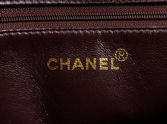 Chanel Quilted Medallion Cc Gst Pst Tote in Brown