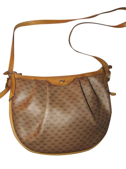 Preload https://img-static.tradesy.com/item/21548481/gucci-sukey-vintage-pursesdesigner-purses-brown-small-g-logo-print-coated-canvas-and-camel-leather-l-0-1-540-540.jpg