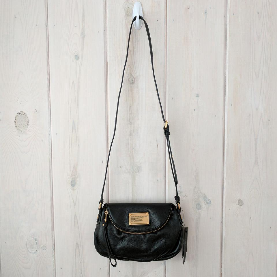 Marc By Jacobs Classic Q Natasha Mini Flap Black Leather Cross Body Bag Tradesy