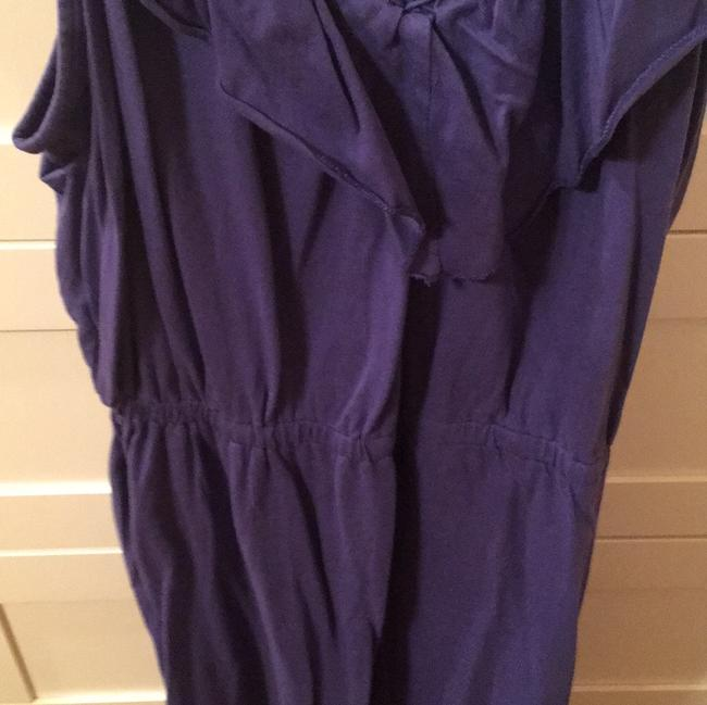 bobi short dress purple blueish on Tradesy