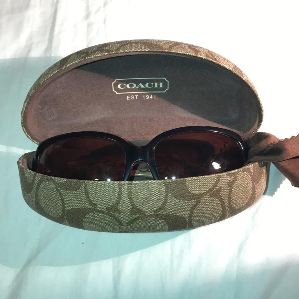 31392b873ded Coach Brown Ginger Tortoise Sunglasses - Tradesy