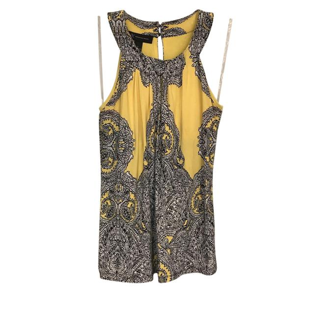 Preload https://img-static.tradesy.com/item/21548889/inc-international-concepts-yellow-black-and-white-high-neck-keyhole-tank-topcami-size-6-s-0-2-650-650.jpg