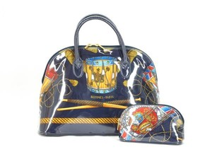 status Calendend Les Tambours Hermes Scarf Hermes Cspecial Satchel in Blue