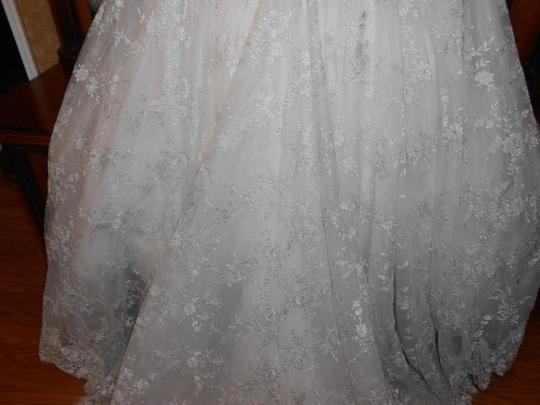 Eden Ivory Lace Bl077 Modern Wedding Dress Size 12 (L)