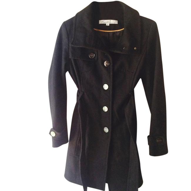 Preload https://item4.tradesy.com/images/kenneth-cole-black-pea-coat-size-petite-4-s-21548933-0-1.jpg?width=400&height=650