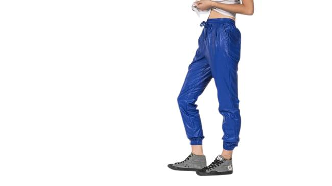 Preload https://img-static.tradesy.com/item/21548954/nightwalker-blue-faux-leather-jogger-relaxed-fit-pants-size-2-xs-26-0-1-650-650.jpg