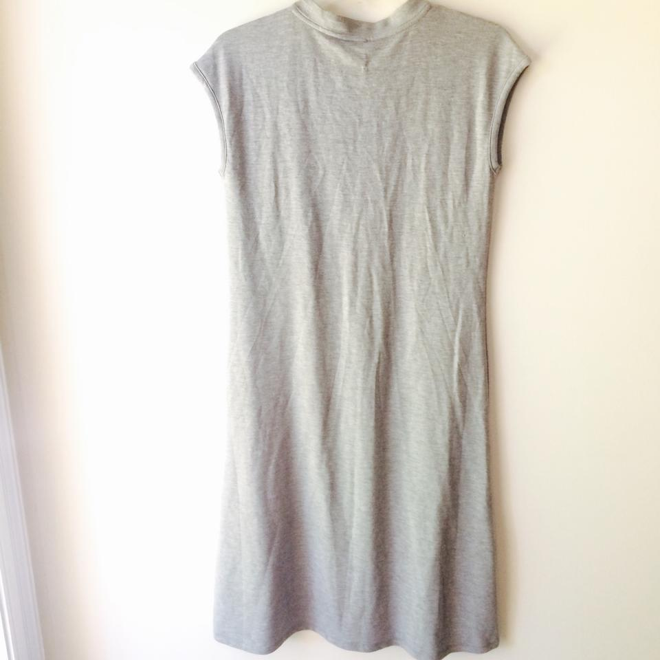 Cable & Gauge Grey Short Casual Dress Size 6 (S) - Tradesy