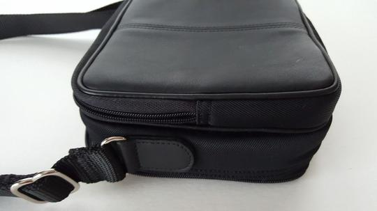 Coach Leather Camera Camcorder Cd Cross Body Bag