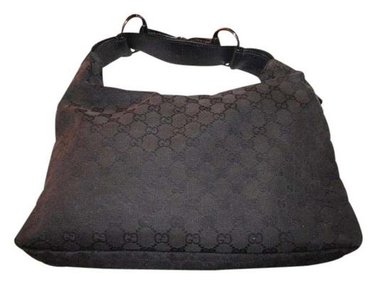 Preload https://item5.tradesy.com/images/gucci-vintage-pursesdesigner-purses-black-large-g-logo-canvas-and-black-leather-leathercanvas-hobo-b-21548984-0-1.jpg?width=440&height=440