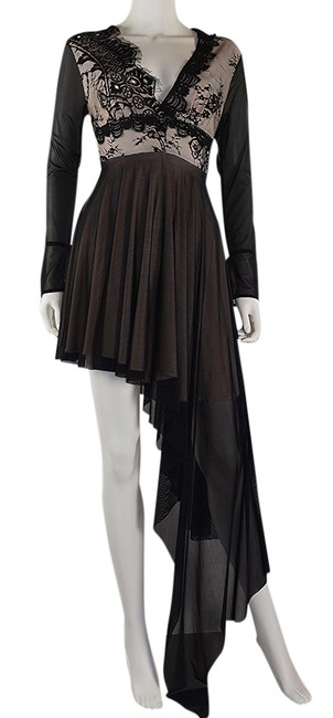 Preload https://item1.tradesy.com/images/lisa-nieves-black-a-dimetric-and-long-formal-dress-size-8-m-21549000-0-2.jpg?width=400&height=650