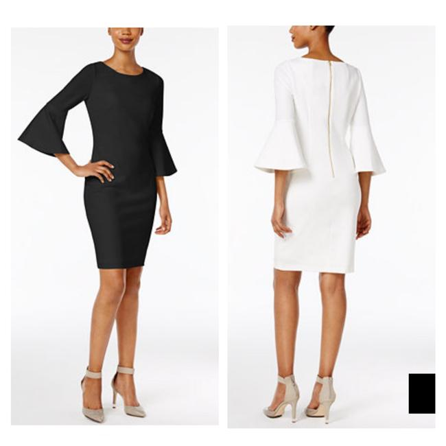 Preload https://item2.tradesy.com/images/calvin-klein-bell-sleeve-shealth-mid-length-formal-dress-size-2-xs-21549031-0-0.jpg?width=400&height=650