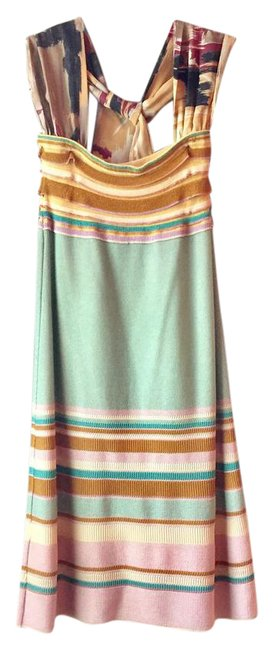Preload https://img-static.tradesy.com/item/21549052/missoni-multi-colored-knit-midi-with-scarf-mid-length-short-casual-dress-size-6-s-0-4-650-650.jpg