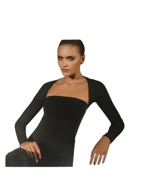 Preload https://item4.tradesy.com/images/wolford-black-fatal-bolero-cardigan-size-2-xs-21549193-0-1.jpg?width=400&height=650