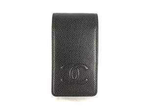 Chanel Noir Caviar Iphone 4S Case 218162