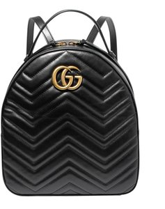Gucci Gg Marmont Qulited Backpack