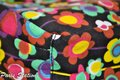 Other BRAND NEW Black Colorful Flower Design Small Purse Organizer Image 2