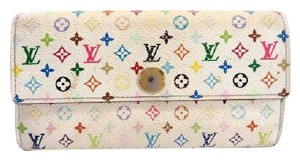 Louis Vuitton Monogram Multicolor Sarah Bifold 219607